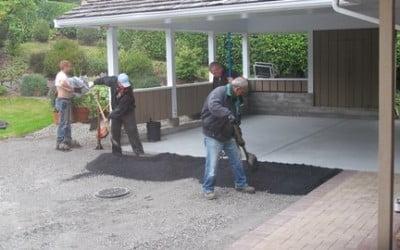 Surrey Asphalt Driveway Replacement