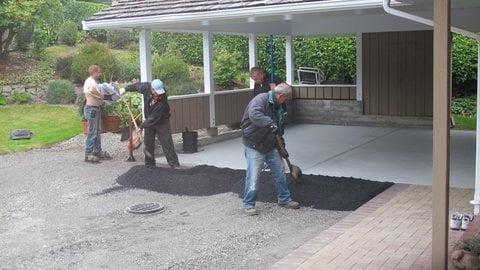 Asphalt Driveway Construction