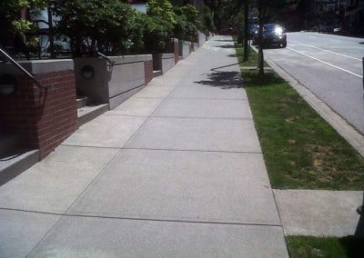 Finished City Sidewalk