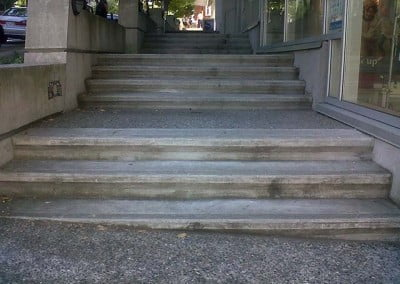 City Sidewalk Staircases