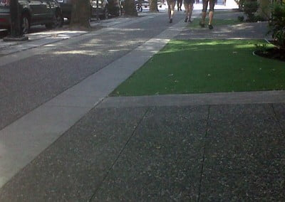 City Sidewalk Complete