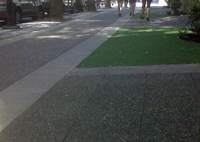 City Sidewalk Complete