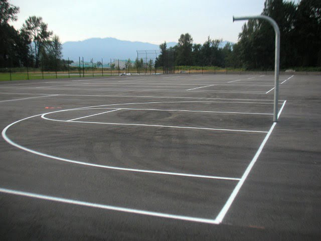 Sport courts resurfacing and paving for Sport court