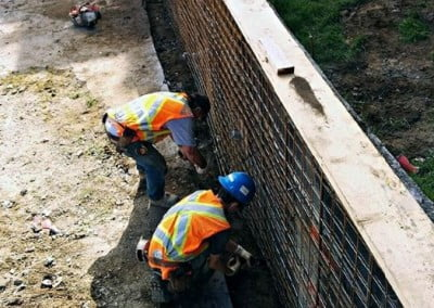 Retaining Wall Prep